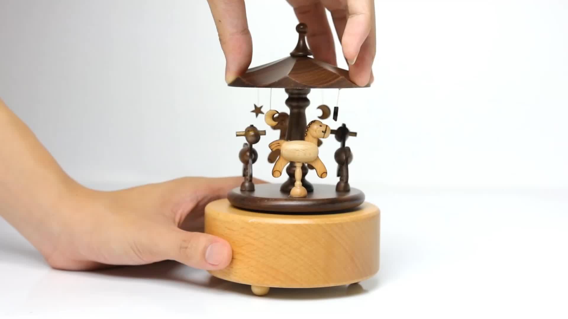 中国人気独特木製カップルギフト