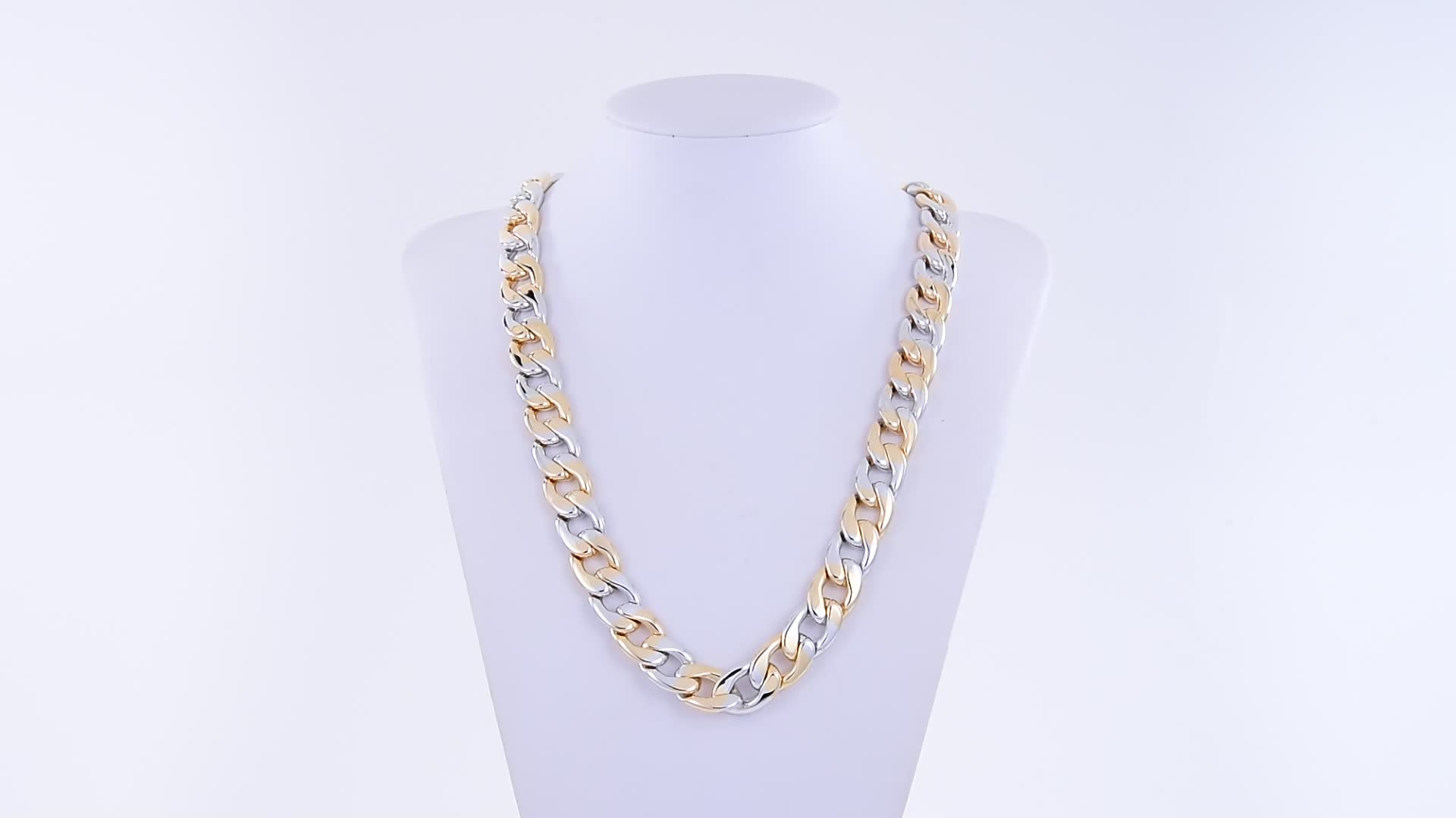 45686 Xuping gold link chain charm hip hop men necklace+custom chain necklace