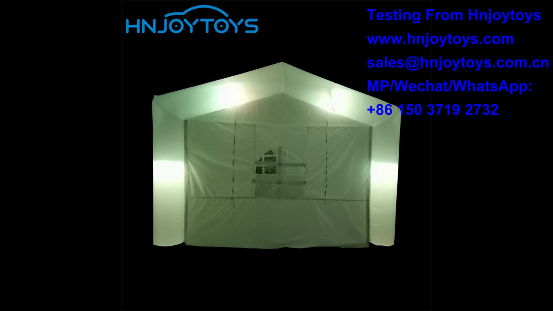 Good price durable inflatable party tent with led lighting