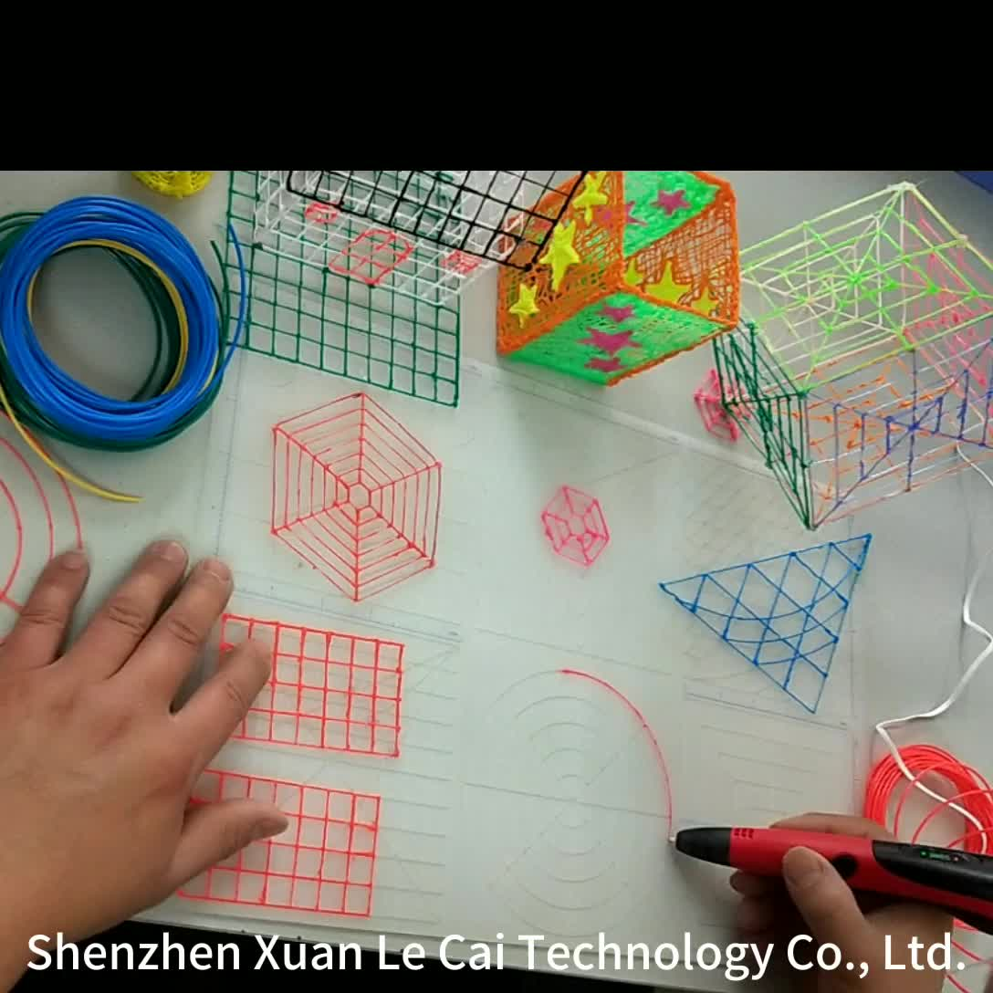 Los niños 3d pluma bien recarga PLA impresora, filamento de 1,75mm