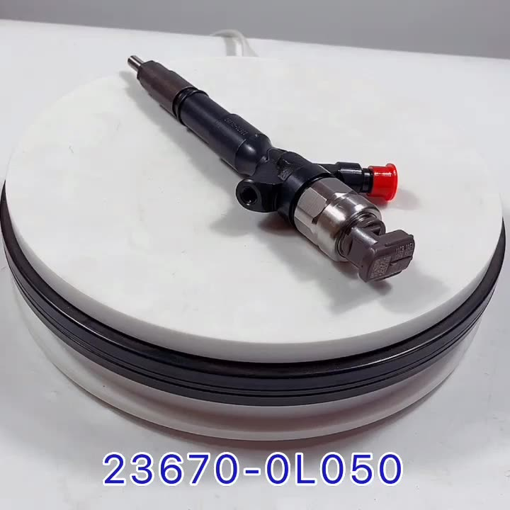 Common rail 1KD fuel injector 095000-8290 23670-0L050 23670-09330 23670-30370  for  1KD-FTV