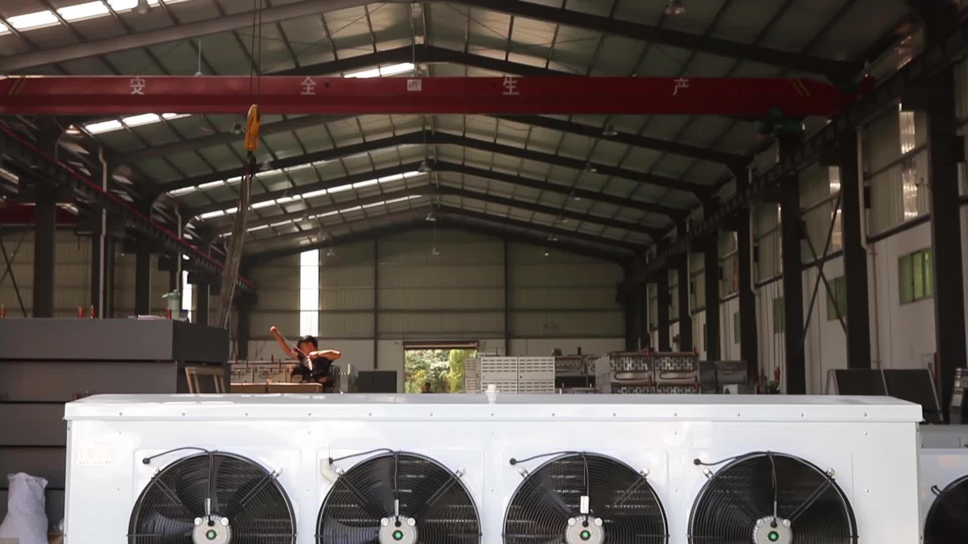 中国自動工業用空気クーラー冷蔵室蒸発器