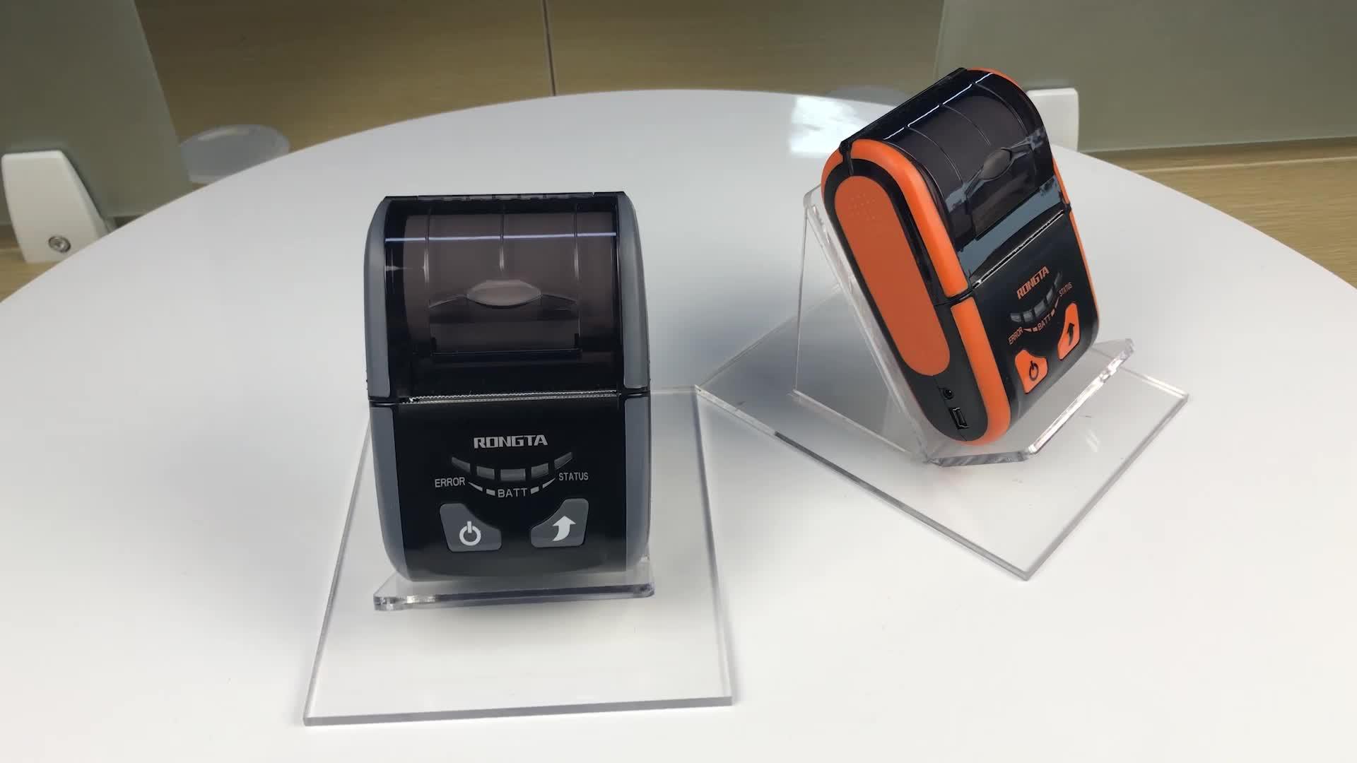 58mm มินิแบบพกพาเครื่องพิมพ์ความร้อน USB Bluetooth WIFI