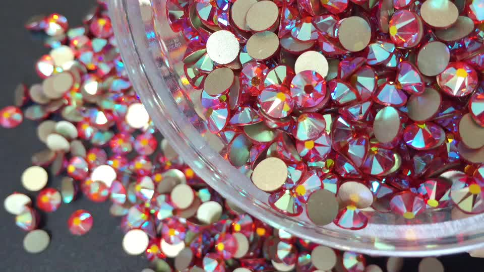 Best quality flat back nail art rhinestone bodysuit glitter crystal non hot fix rhinestone for rhinestone purse socks