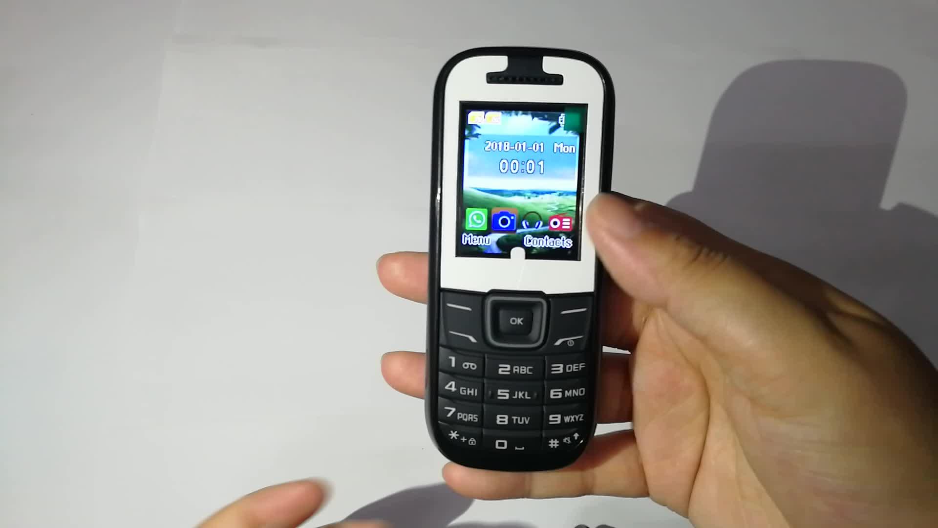 هاتف محمول 2g رخيص الثمن بسعر زهيد من خلال جدول بيانات رقم الموديل spألوان trum6531 غير مقفول هاتف محمول جي بي آر إس GSM لهاتف سامسونج 1200 1207