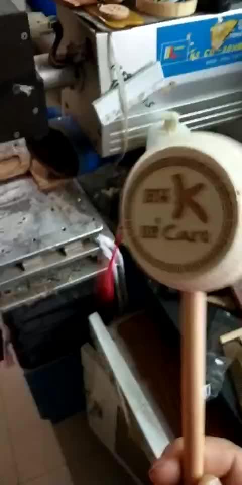 FQ merek Anak mini alat musik bayi tangan berayun kayu rebana