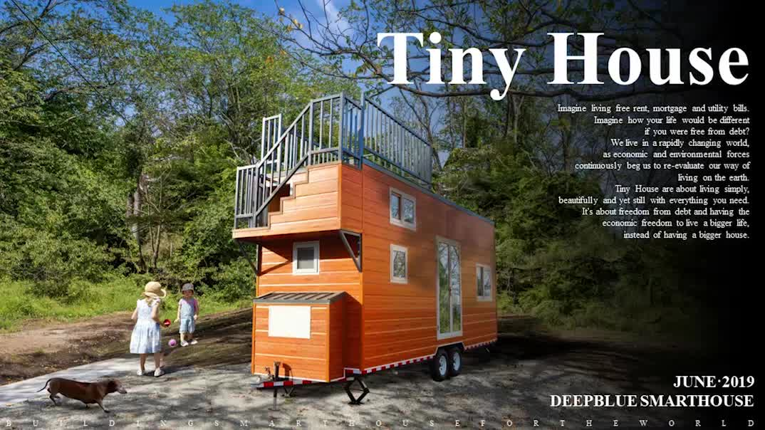 Deepblue Smarthouse Modern Prefab Lightweight Cold Rolled Steel Prefabricated Tiny House Kits On Wheels Nz Au Standard Buy Tiny Houses Dropshipping With Trailer Prefabricated Wooden House Pre Fab Tiny House Product On Alibaba Com