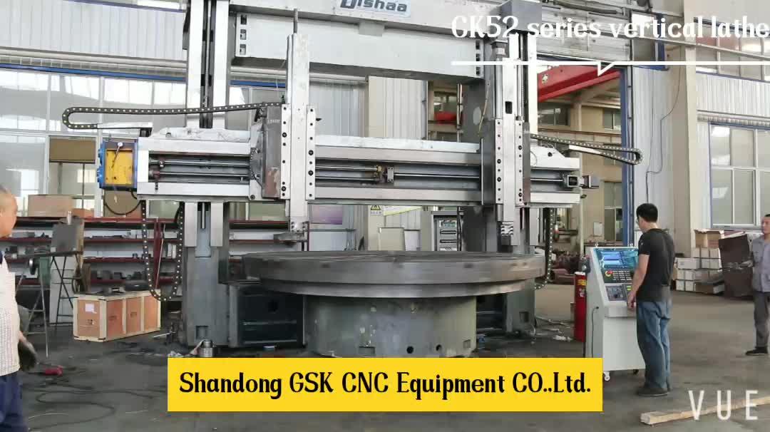 Large vertical lathe machine CK5240 Two Column CNC Vertical Lathe