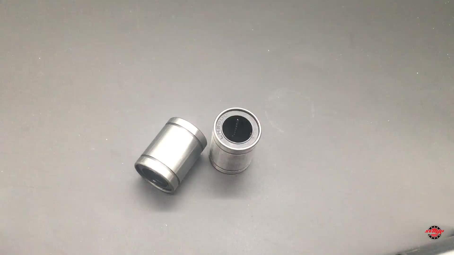 स्लाइड गेंद 6mm लघु रेखीय गति असर LM6UU