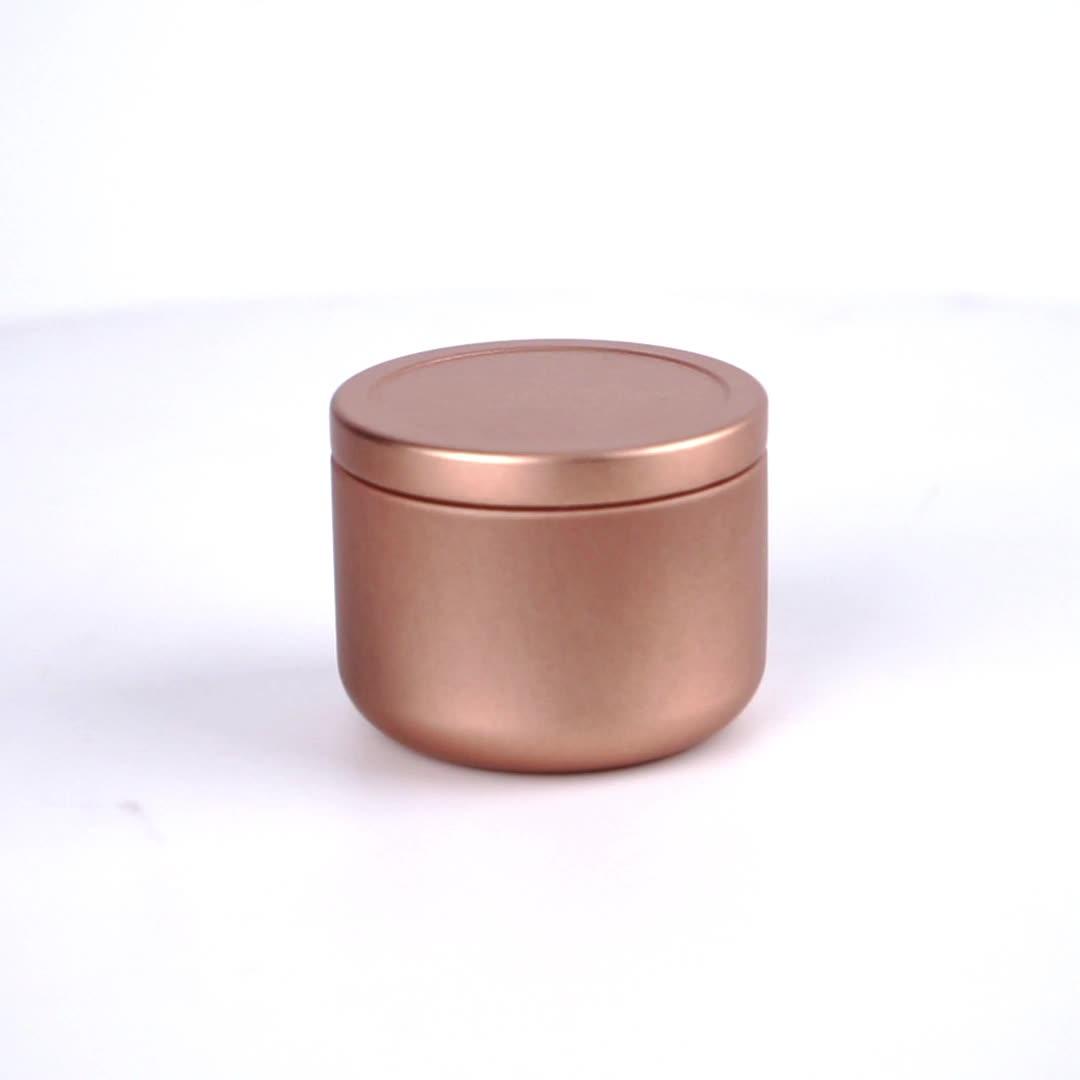 Mais novo Colorido Chá Chinês embalagem caixas de lata pequena de metal