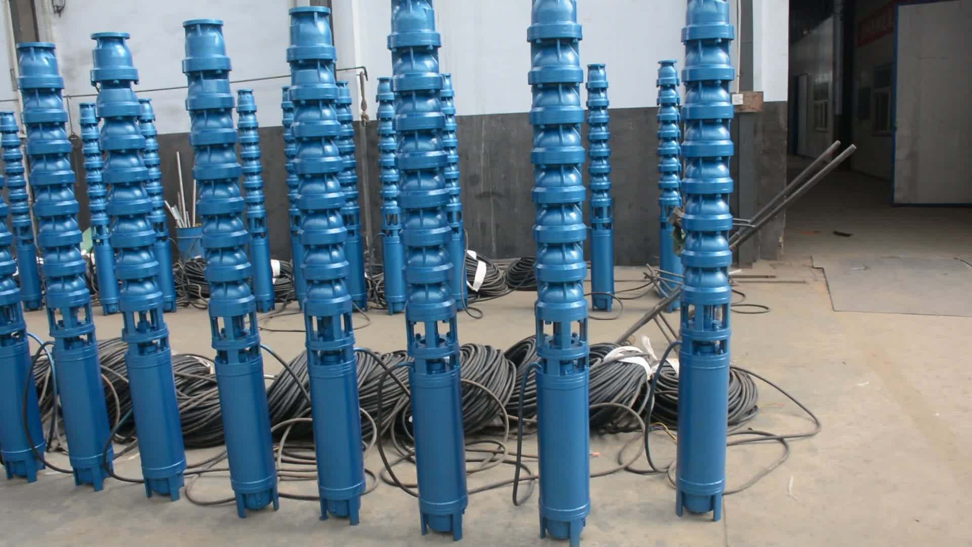 8 10 12 Inch 20hp 25hp 30hp 40hp 50hp 100 hp Electric Deep Well Pumps Borehole Water Submersible Pump Prices