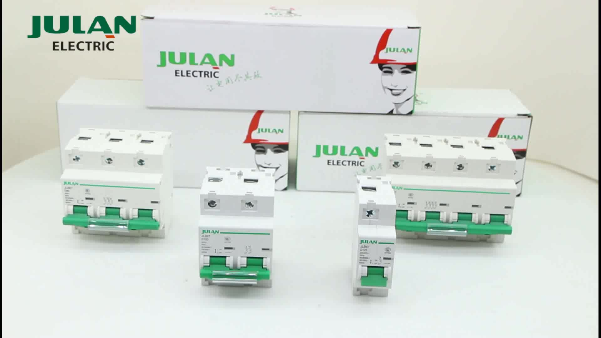 Julan Customizable 2p 6 63a Residual Current Circuit Breaker Rccb How Does A Work