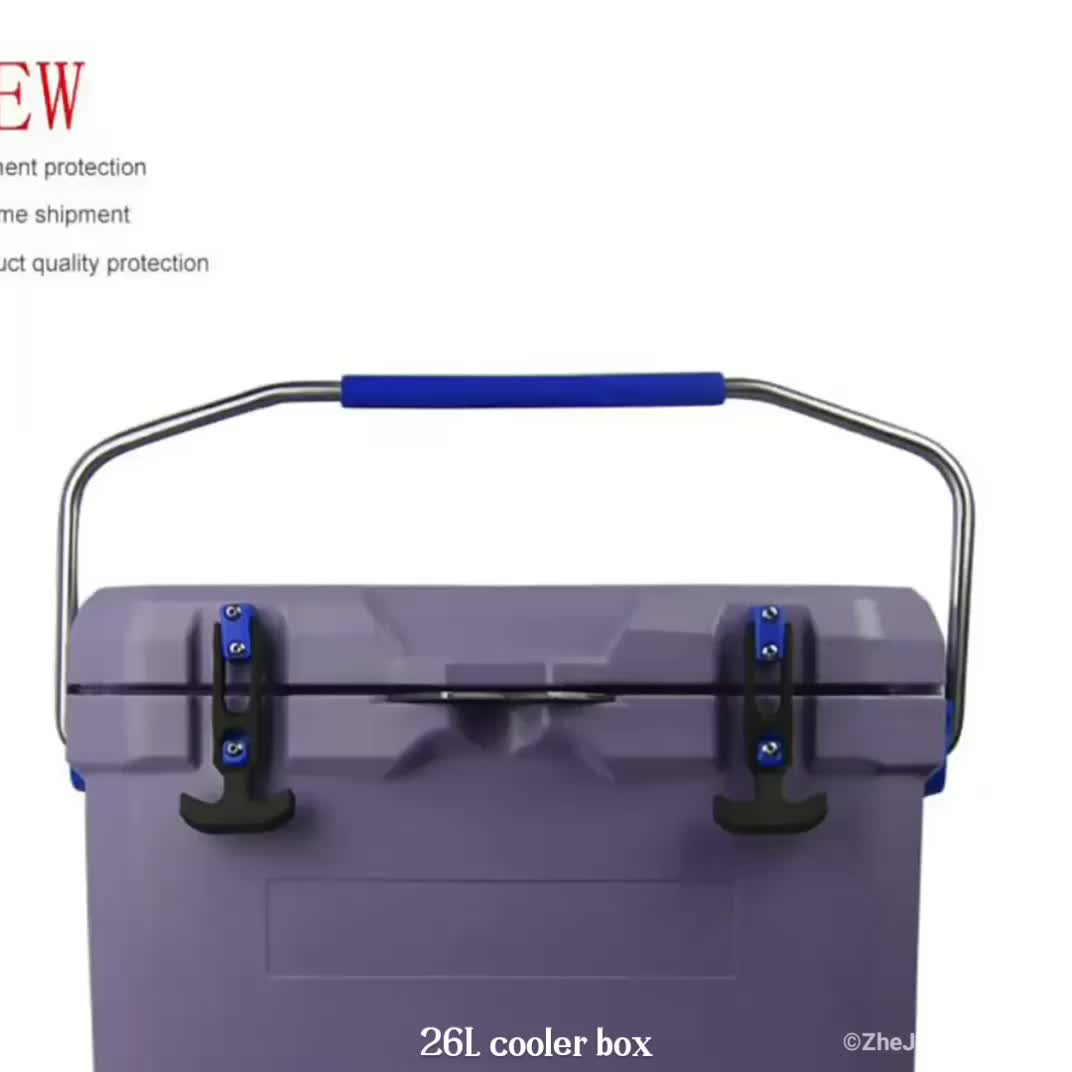 High quality no power plastic powered cooler box