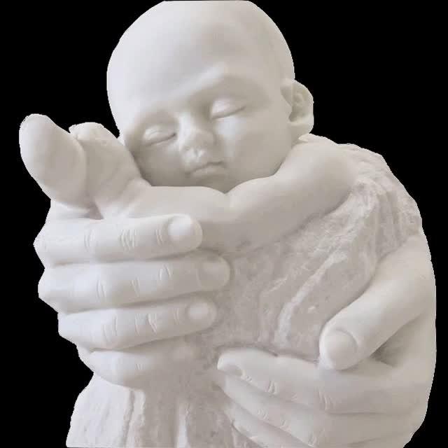 Outdoor Levensgrote Natuursteen Wit Marmer Naakt Denken Man Standbeeld Sculptuur