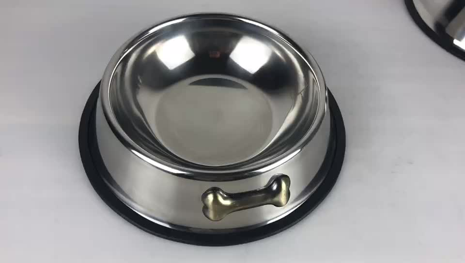 Stainless Steel Dog Bowl For Pet food bowl