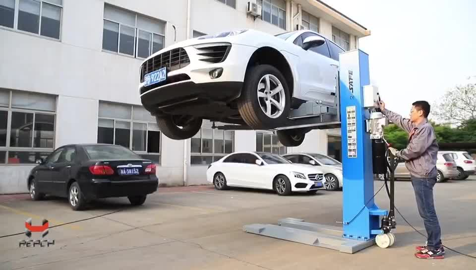 Hot sale CE Certificated hydraulic auto lift single post car lift