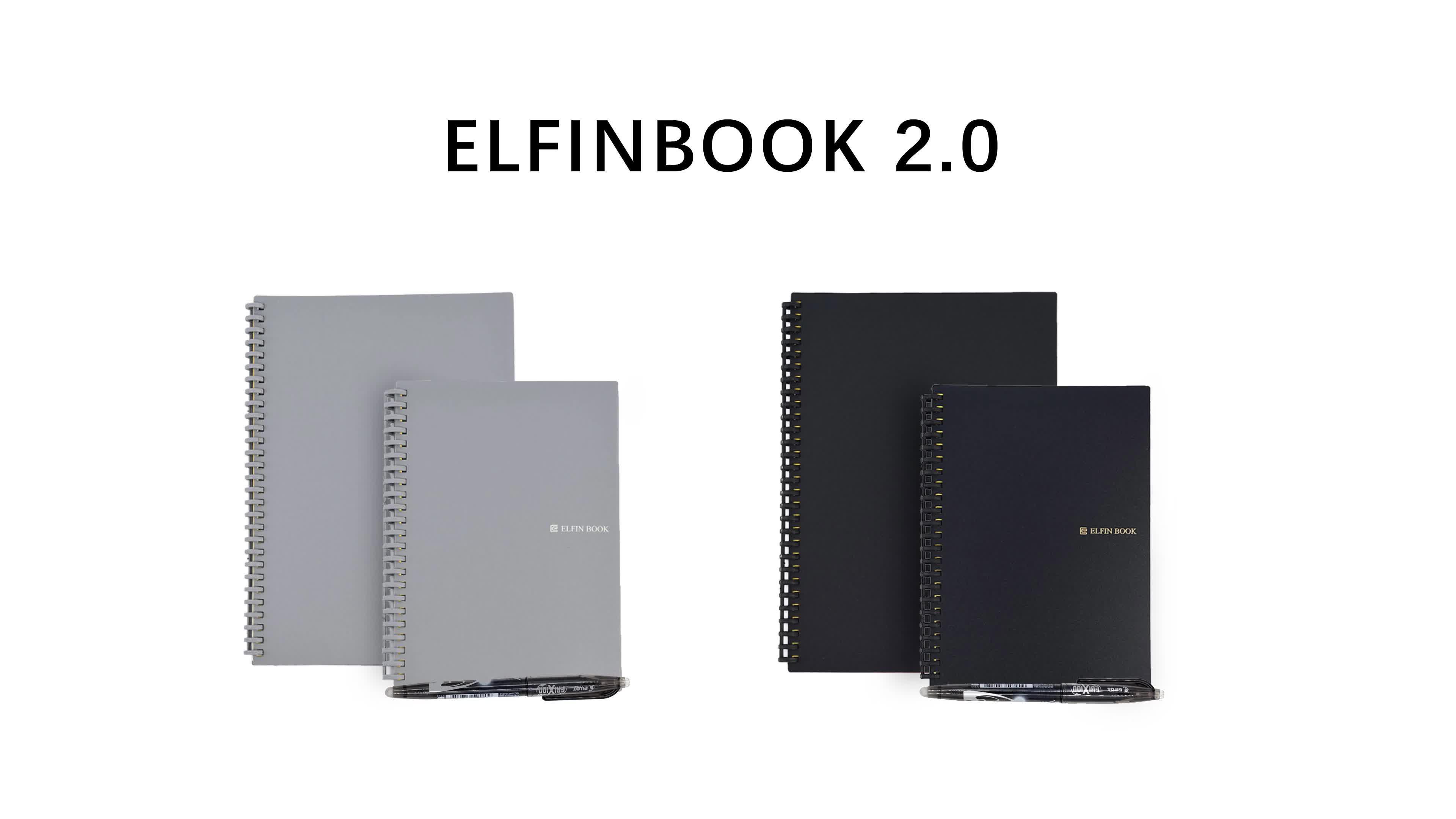 Elfinbook 2.0 재사용할만한 재활용 스마트 노트북 Suvenirs 프로모션 독특한 선물 프로모션 로고