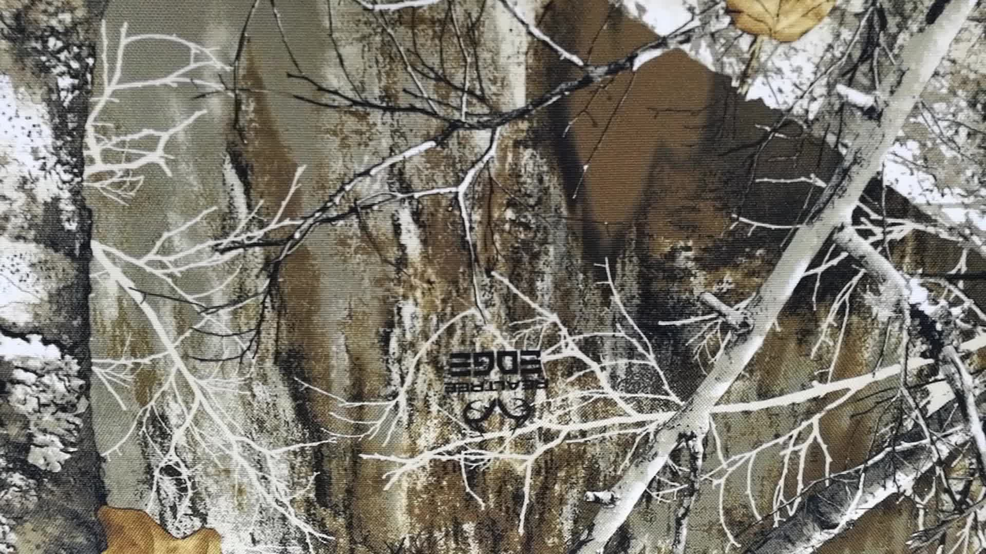 Polyester camouflage oxford stof, camo stof Realtree Rand outdoor jacht