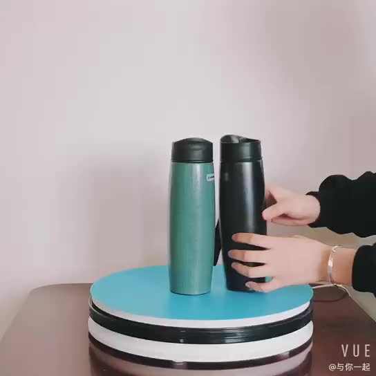 2019 Personalized vacuum insulated stainless steel sublimation ceramic travel mug with eco-friendly