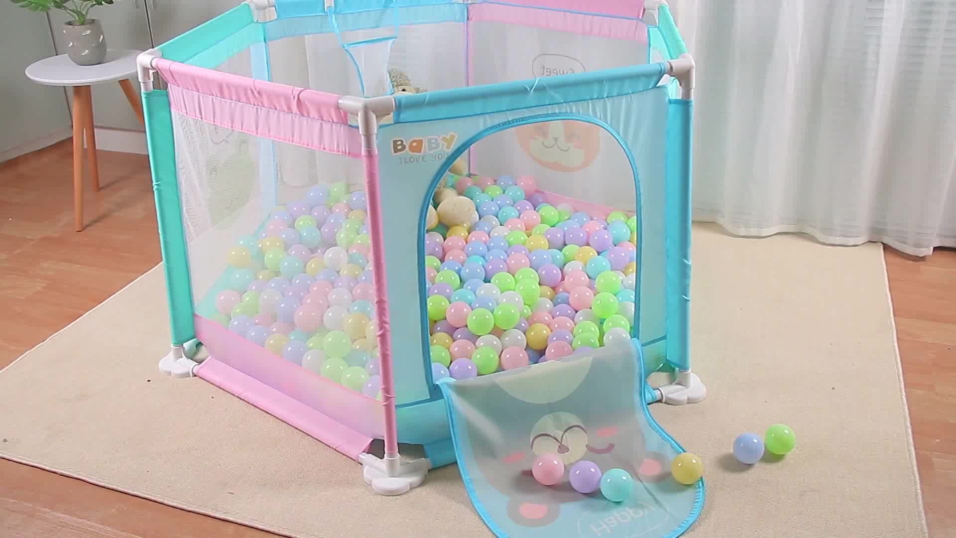European Standard Baby Outdoor Portable Baby Play Yard / Baby Playpen / Baby Playard