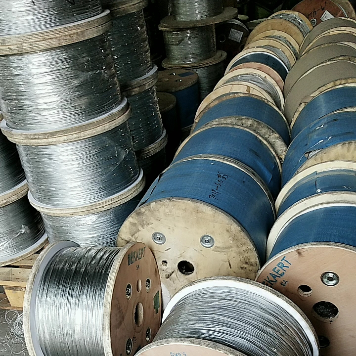 Direct factory price wholesale 6mm galvanized steel wire rope for multiple uses