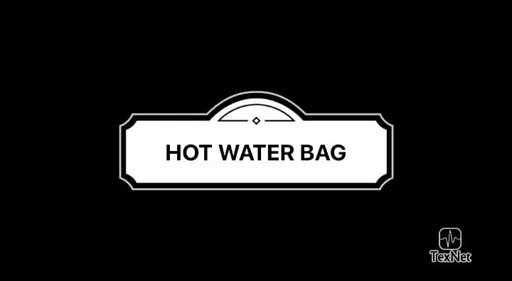 Customized High Quality Rubber Medical Cold Hot Water Bag Cover
