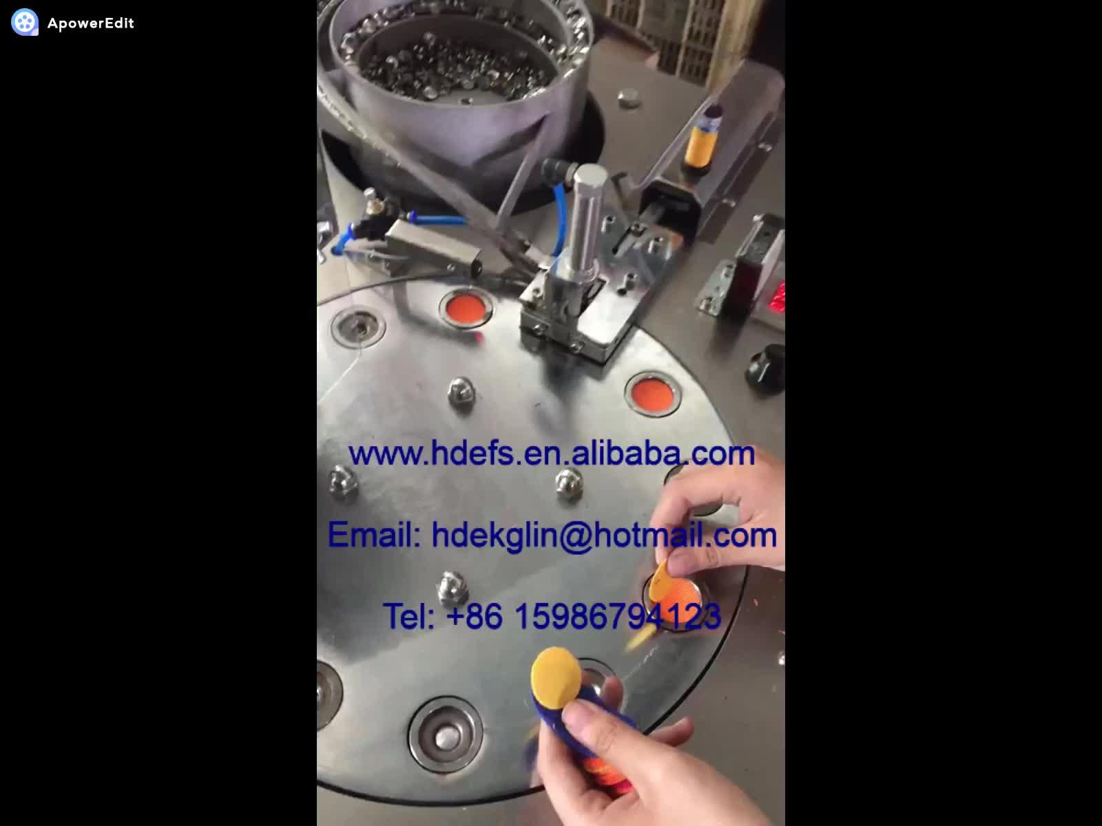 full automatic fabric button machine