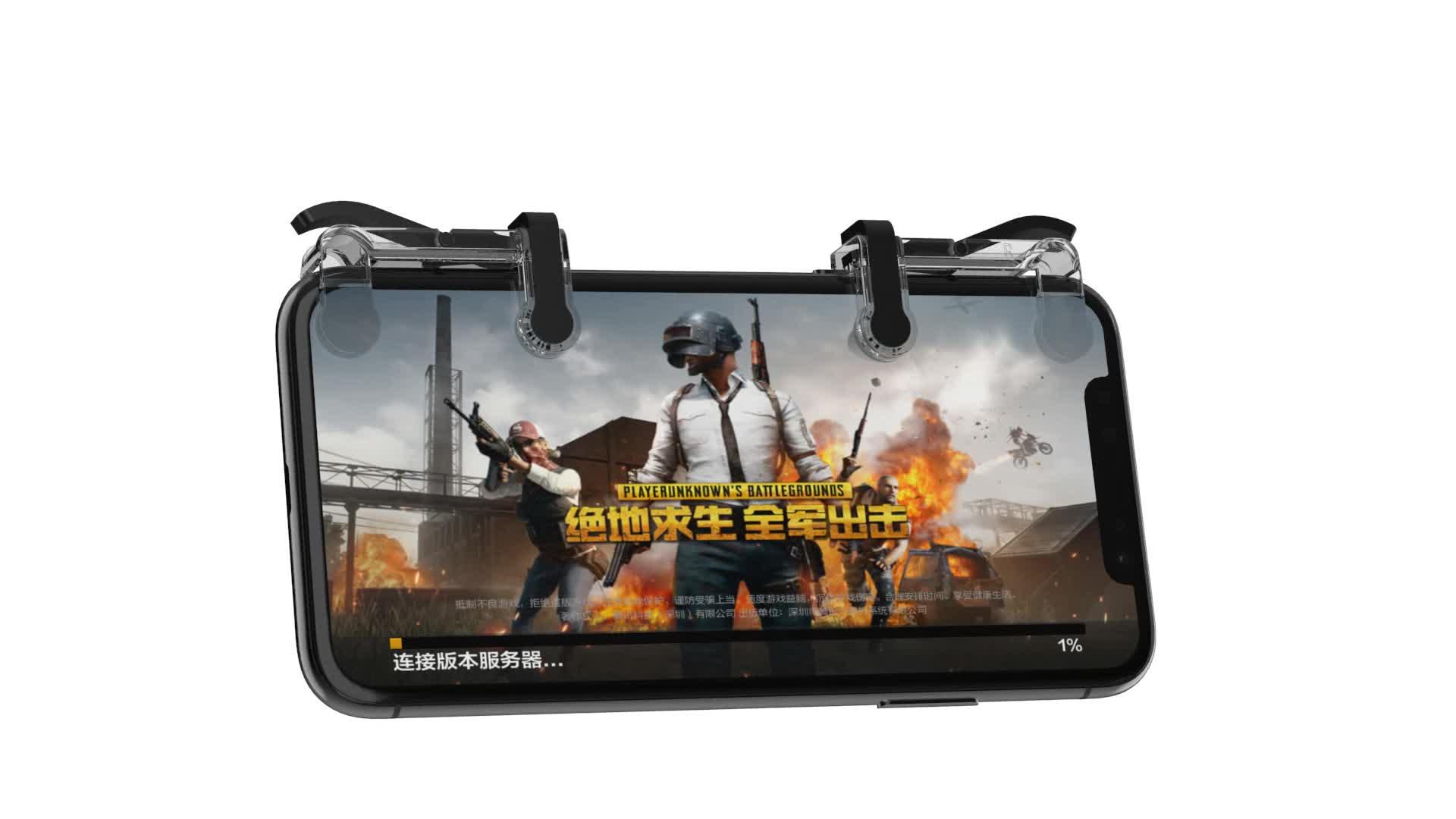 Di alta Qualità Pugb Gaming Trigger Controller di Gioco Joystick Per Il Telefono Mobile Joystick L1 r1 PUBG Controller di Gioco