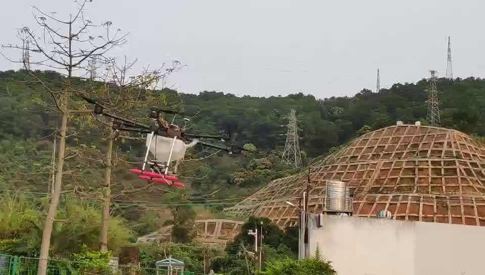 Landbouw hoge efficiënte spuiten Lage prijs landbouw spuit UAV 10 KG UAV drone vliegtuigen 10 liter UAV drone GPS vliegtuigen