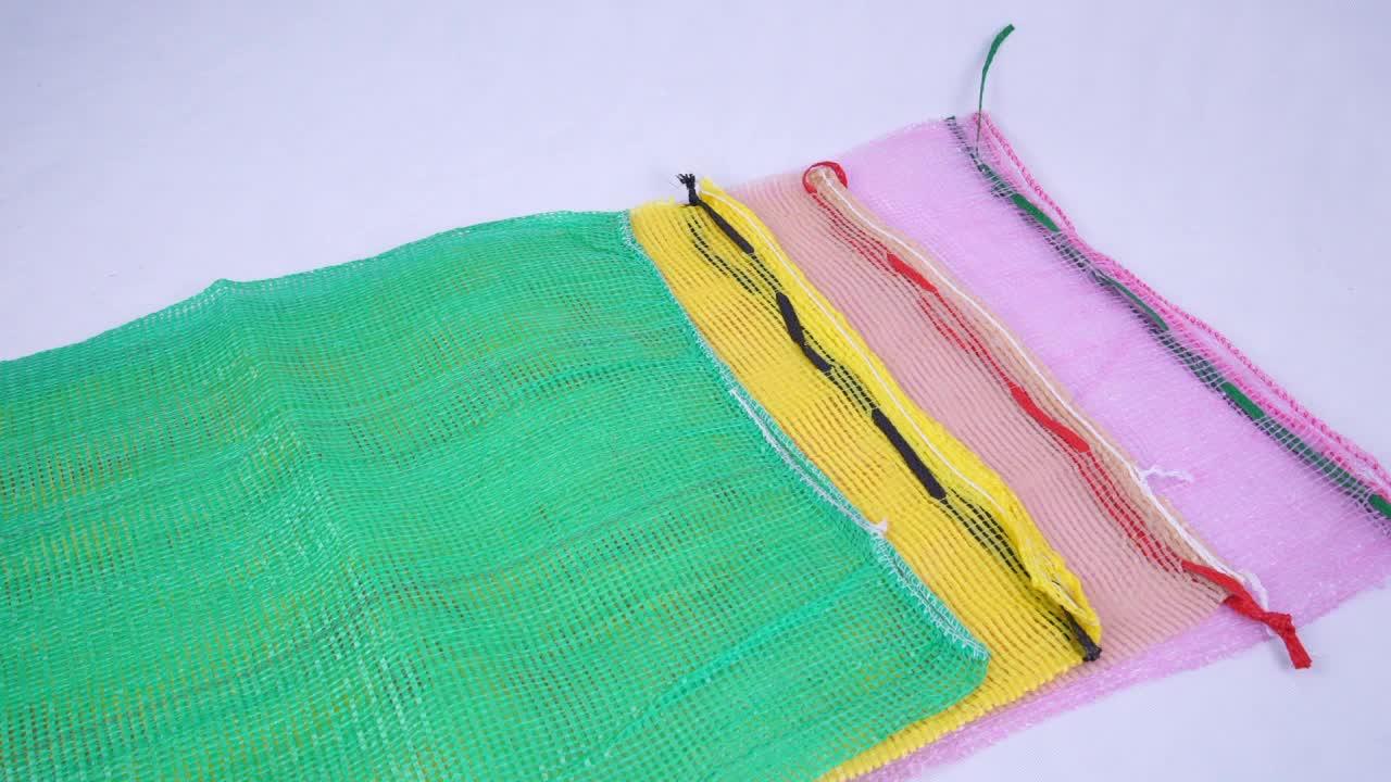 Onion potato China Factory Durable PP leno mesh bag
