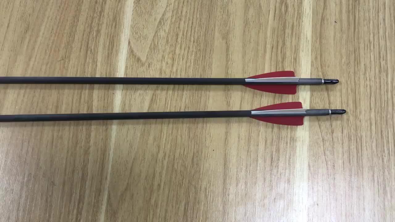 ขายร้อน ID4.2mm ตุรกี feather Archery คาร์บอนไฟเบอร์ Arrow ส่วนใหญ่ bows hunting