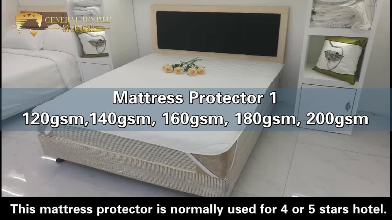 Premium quality hypoallergenic waterproof mattress cover