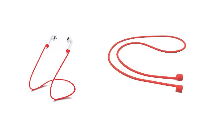 Anti Lost Silicone Strap String Lanyard rope for Wireless Headset Earphone