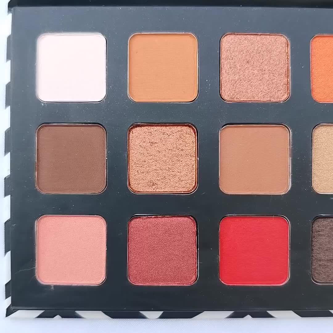 Các OEM Palette Eye Shadow Trang Điểm Mà Không Cần LOGO Chào Mừng LOGO