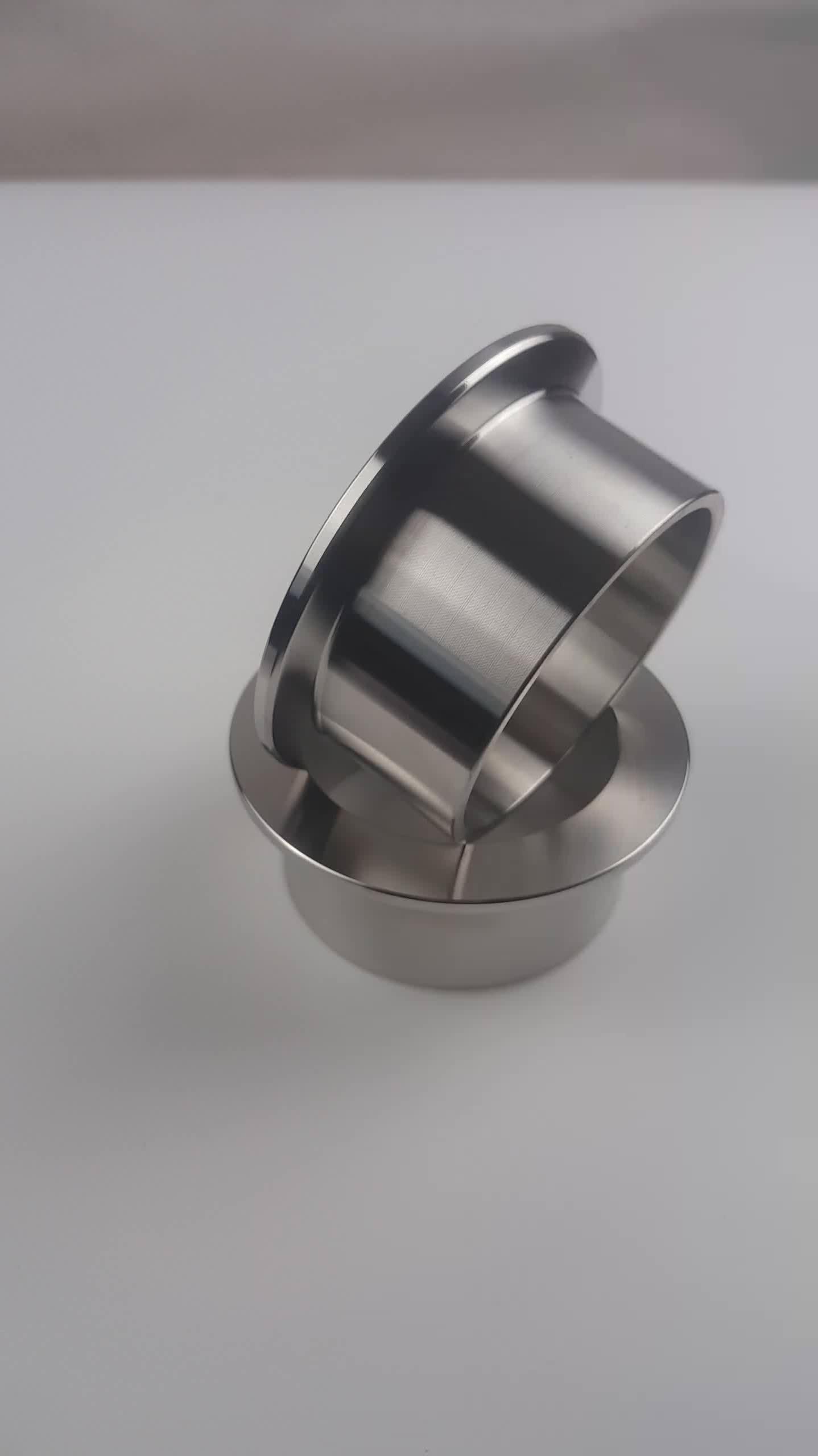 KF10 KF16 KF25 KF40 KF50 flange weld quick fitting stainless steel KF vacuum half nipple