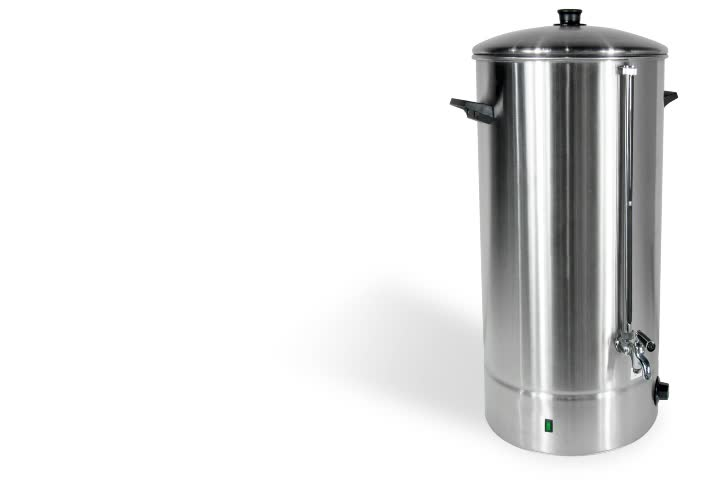 35L Hong Kong Style Electric Hot Water Boiler With Water Gauge