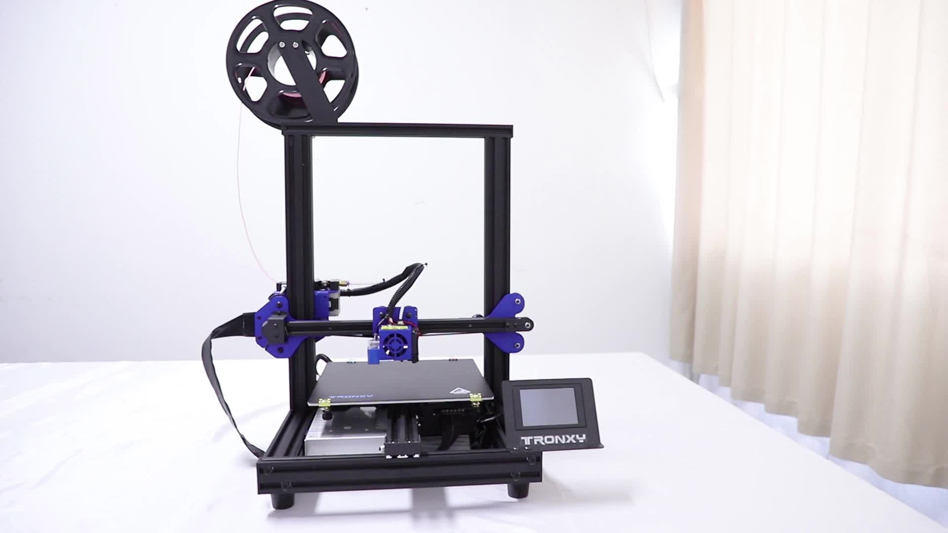 Multifunctional fast assembled printer 3d TRONXY XY-2 PRO children toys small build size educational 3d printer
