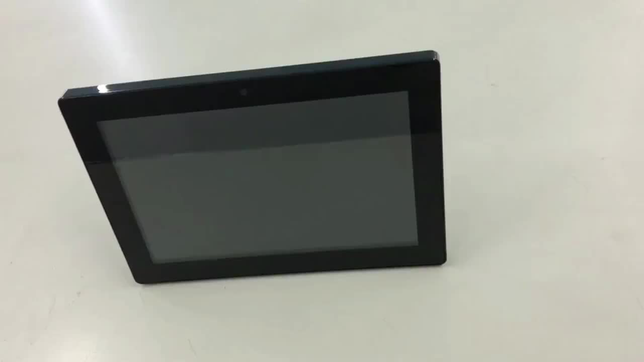 """10.1"""", 15.6"""" commercial wall mount POE power WIFI touch screen advertising Android tablet  with VESA holes"""