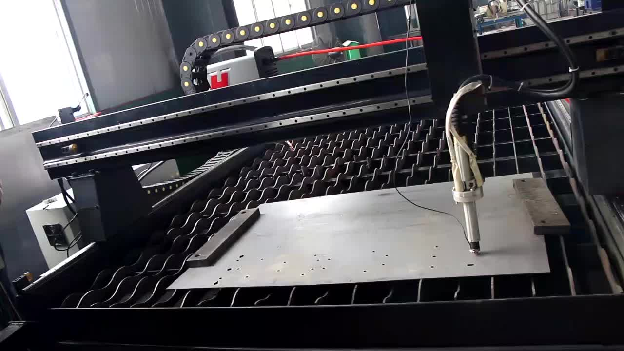 Good Price Automatic CNC Plasma Cutting Table Factory Sales