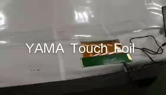 17inch completely transparent flexible lcd film multi touch film