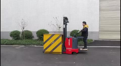 Hot selling Hyder 1.5ton/2.0ton electric stacker,powered pallet truck,electric reach stacker