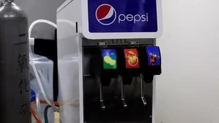पेप्सी कोला फाउंटेन पोस्ट मिश्रण मशीनों/रस और वितरण मशीन/कोला मशीन