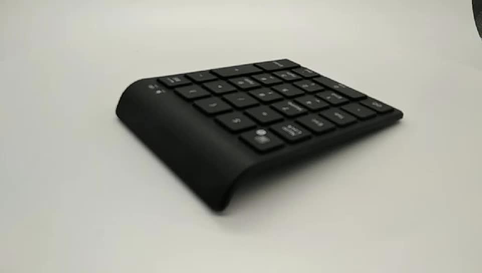 teclado keyboard bluetooth number pad wireless 28 keys