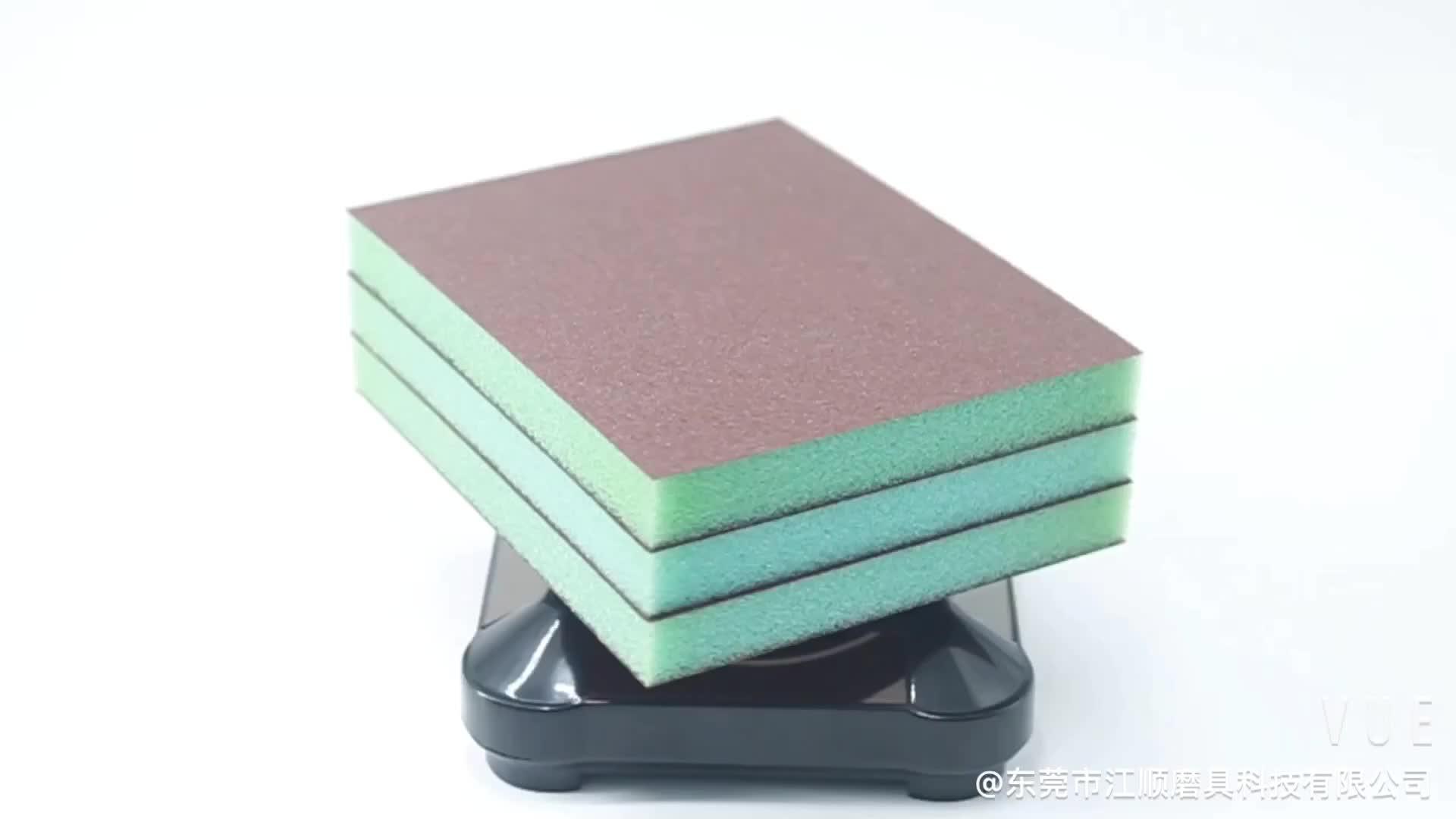 Aluminium Oxide Schurende Schuren Spons Blok