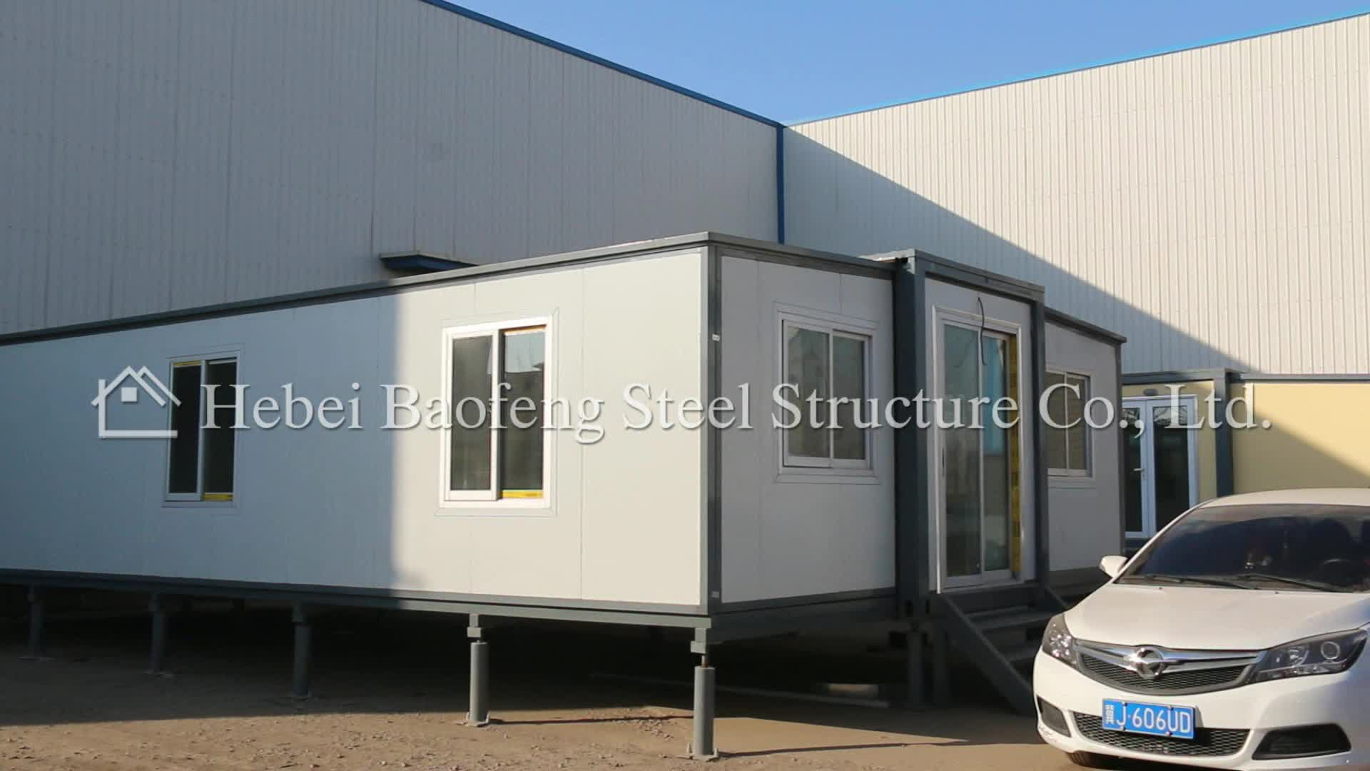 Folding house on wheels