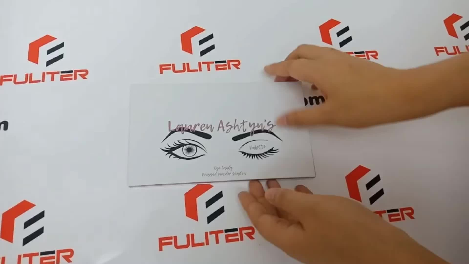 Wholesaler Gift Box Printing Cardboard Packaging Empty Eye Shadow Case/Eye Shadow Box/Eye Shadow Packaging
