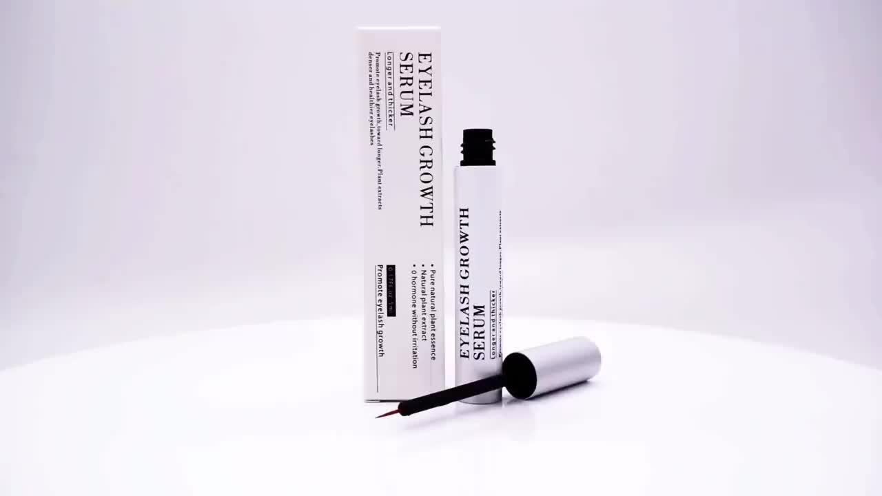 Wholesale Private Label Eyelash Growth Serum Enhancer Eyelash and Brow Growth Serum