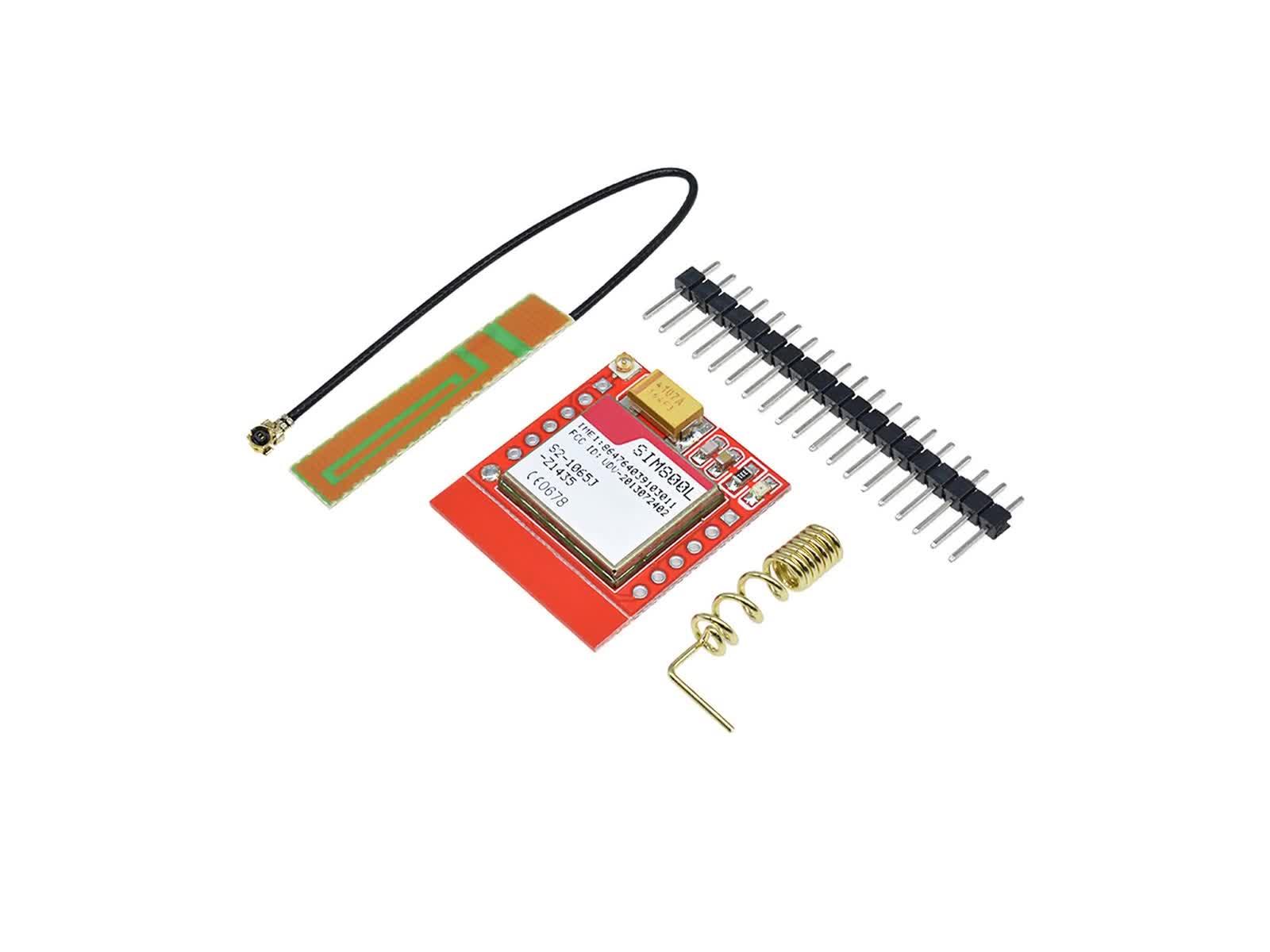Nhỏ nhất SIM800L GPRS GSM Module Vi Điều Khiển Mô-đun Điện MicroSIM Thẻ Bảng Lõi Quad-band TTL Cổng Nối Tiếp và PCB antenna