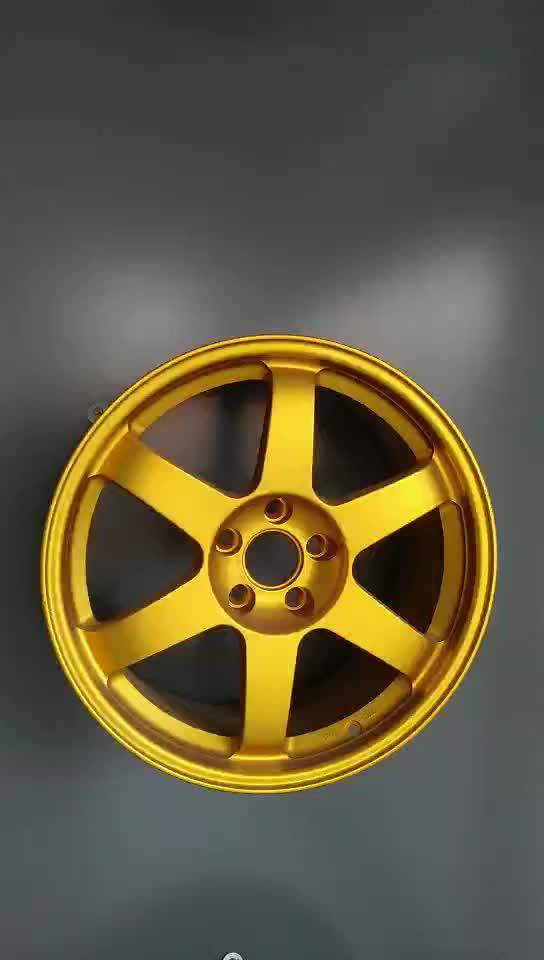 18x8.5 Forgé Roue 5 rayons PCD5x114.3 Racing Wheel TE37 DM003 volk racing