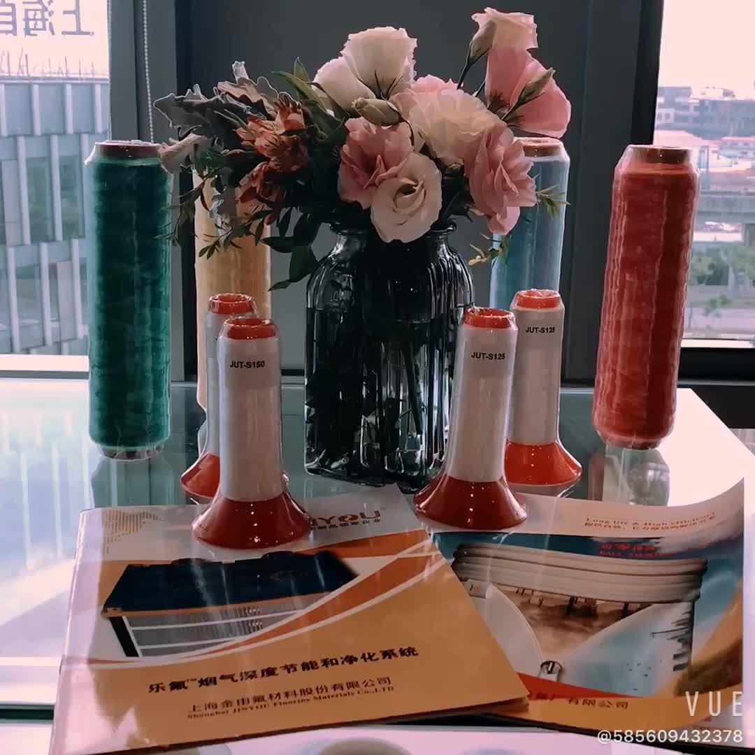 100% teflon naaigaren gebruiken voor outdoor producten, industriële producten, medische hechtingen in China fabrikant